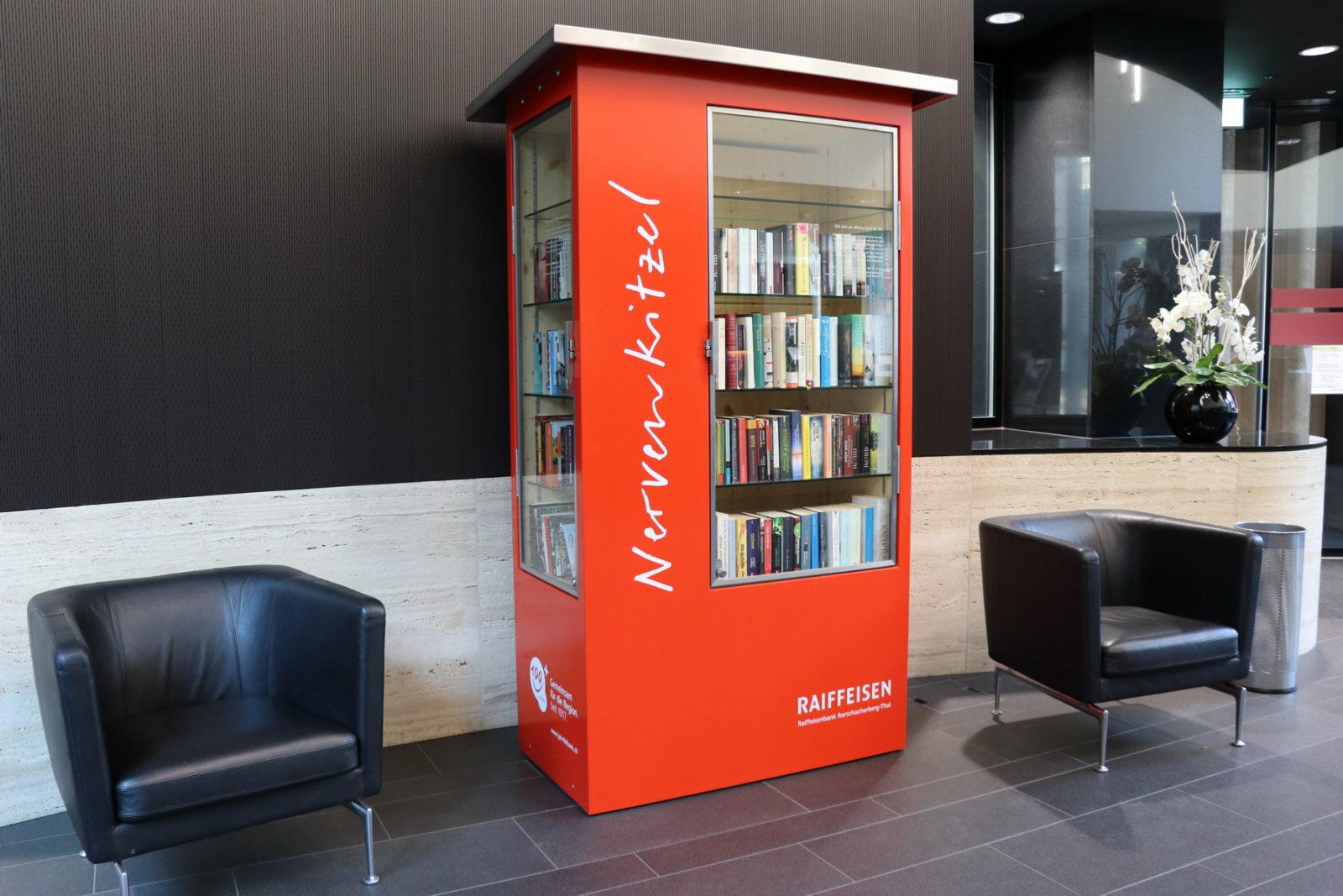 Die Bücherschränke wollen gefüttert sein – Rorschacher Echo